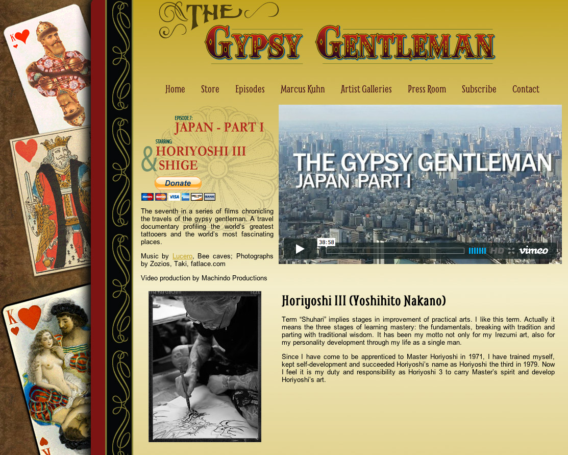 gypsy gentleman h3